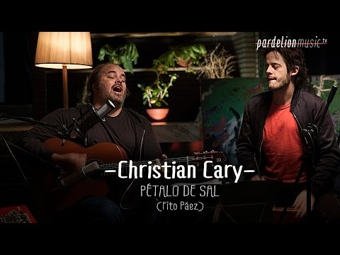 Christian Cary - Pétalo de sal (Fito Páez) (Live on PardelionMusic.tv)