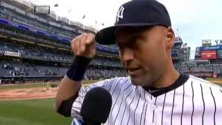Derek Jeter on Hiroki Kuroda's start in Opening Day win at Yankee Stadium