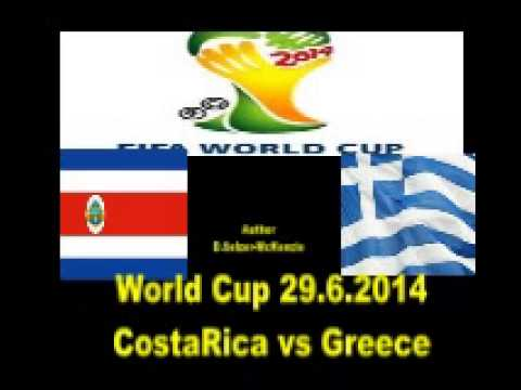 World Cup 29.6.2014 Costa Rica vs Greece