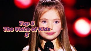 Top 5 - The Voice of Kids 5