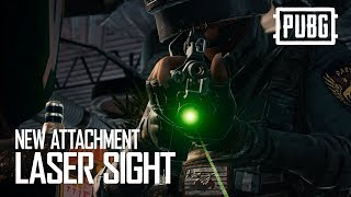 PUBG - New Attachment: Laser Sight