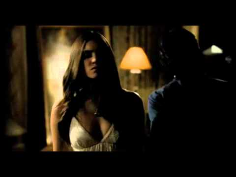The Vampire Diaries 3x01 Clip (Damon & Elena)