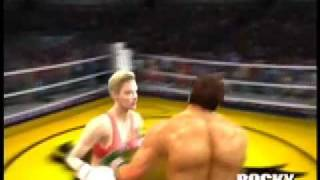 Big Male KOed In Mixed Boxing Match