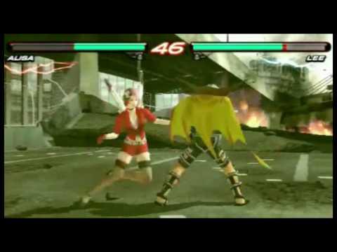 Tekken 6 на PSP (видео интервью с разработчиками)