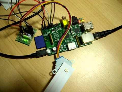 for Raspberry pi stepper motor control