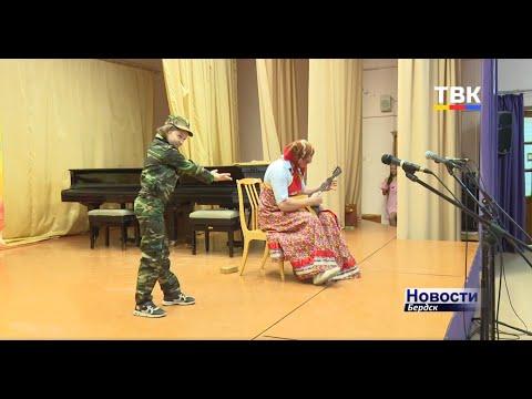Композицией Deep purple на балалайке удивили папа и дочь на вокальном конкурсе в Бердске