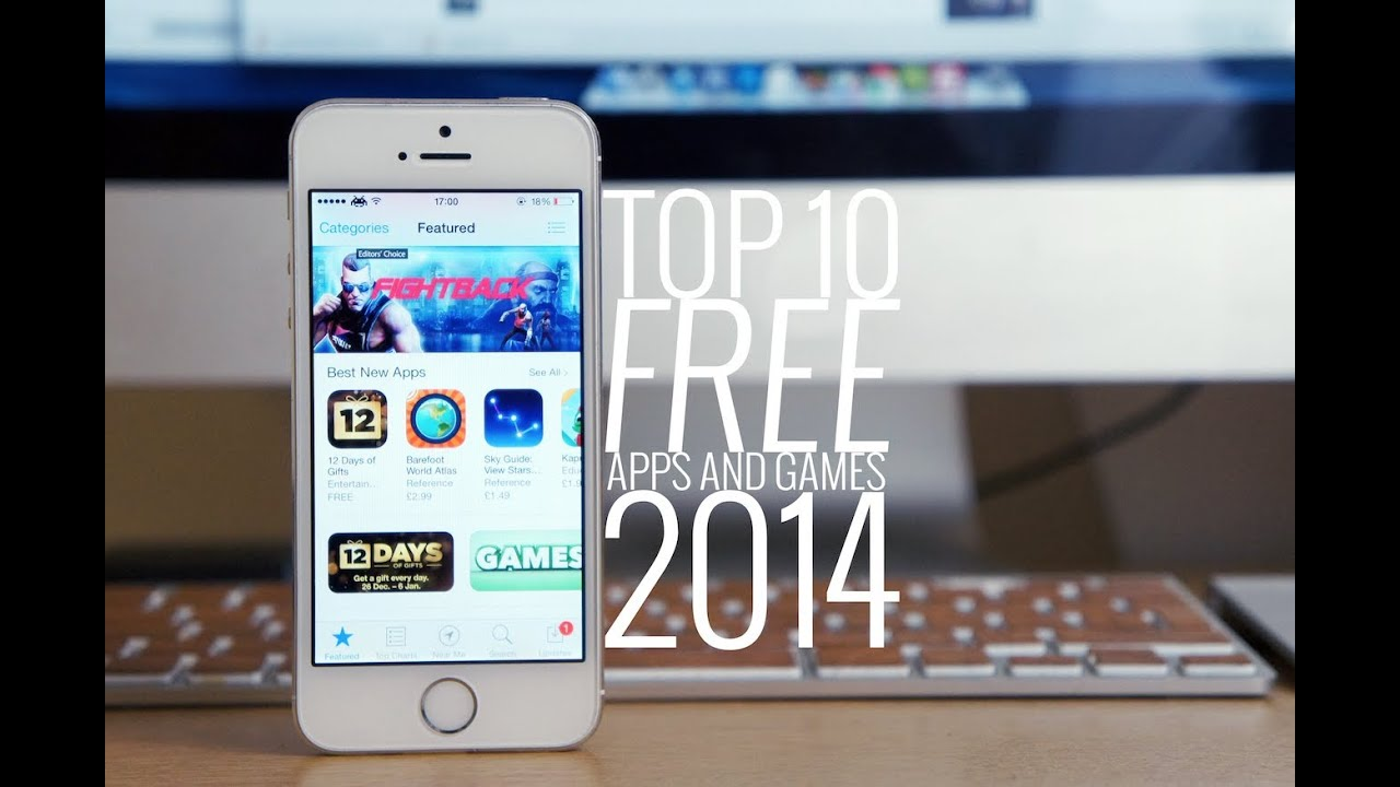 best iphone 4 free games 2014