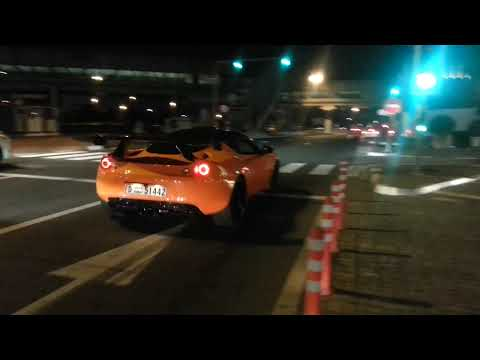 BRUTAL! Lotus Evora GTE F1 LOUD ACCELERATION in Dubai!!