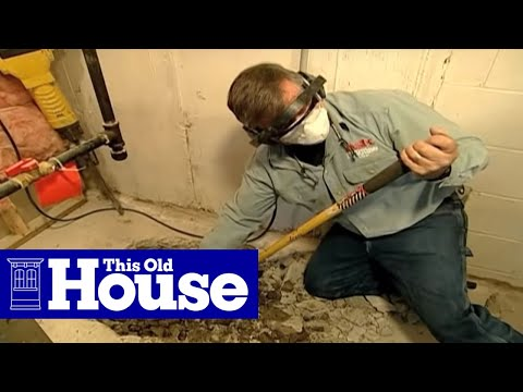 How To Install A Sump Pump  This Old House  Youtube. Living Room Furniture Cheap. Living Room Footstool. Bench Furniture Living Room. Purple Living Room Decor. Rent A Center Living Room Sets. Living Room Artwork Ideas. Living Room Statues. Modern Living Room Couches