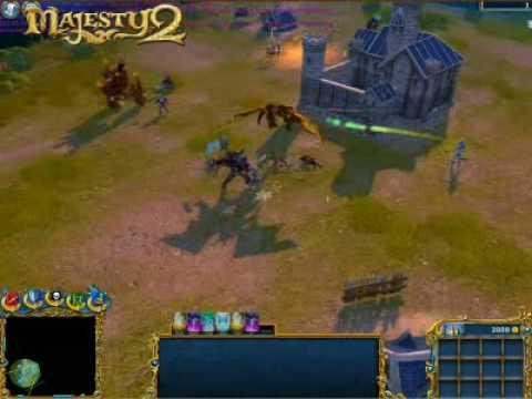 Ещё парочка небольших видео геймплея Majesty 2