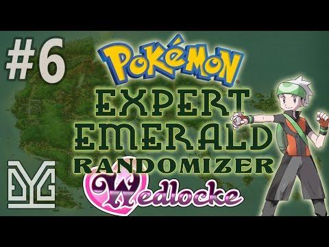 Pokémon Expert Emerald Randomizer Wedlocke #6: Liều :v