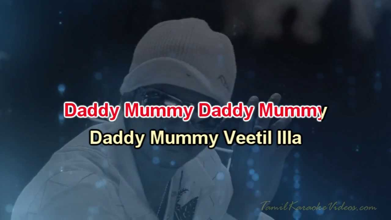 Daddy Mummy Veetil Illa Song Lyrics From Villu