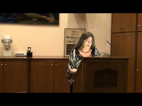 Poetry Evening at the Athens Centre - Susan McLean (Part 2)