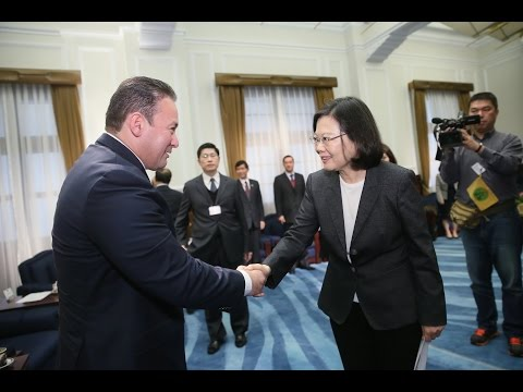 President Tsai meets President Gallegos of Salvadoran Legislative Assembly