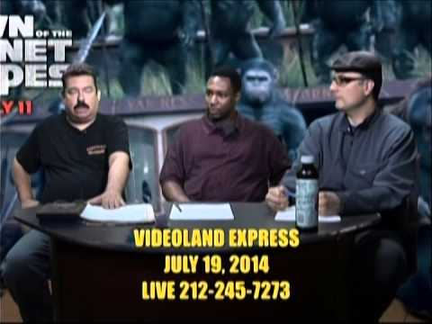 Videoland Express Live on MNN July 19 Pt  2