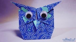Origami Baykuş yapımı