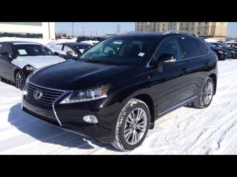 2014 Lexus RX 350 AWD Technology Package Review in Black Edmonton