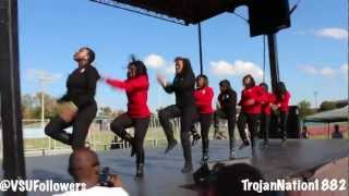 Delta Sigma Theta Alpha Eta Chapter VSU Homecoming