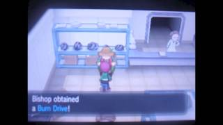 Pokemon X And Y:How To Get Genesects Drives