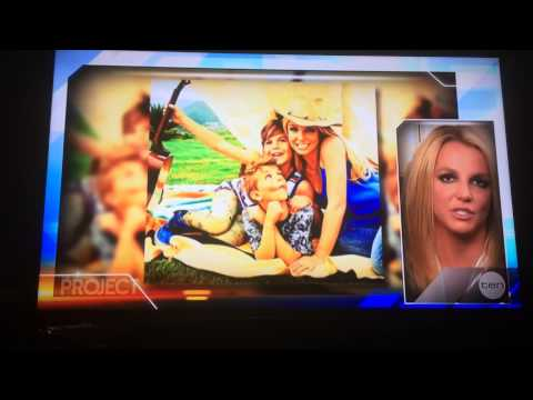 Britney Spears Interview on The Project (25.05.2015)