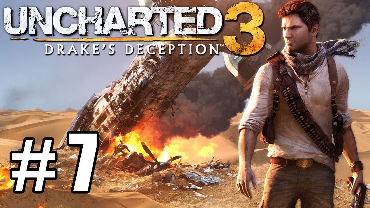 Uncharted 3 Walkthrough Part 7 HD - Spider Hell - YouTube