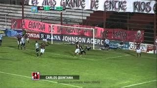 Gol de Quintana. Patronato 1 - Atl. Tucumàn 0. Fecha 8. Torneo Primera B Nacional. FGPT