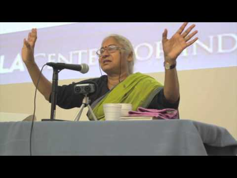 Q & A with Medha Patkar at IFA Fall Forum 2014