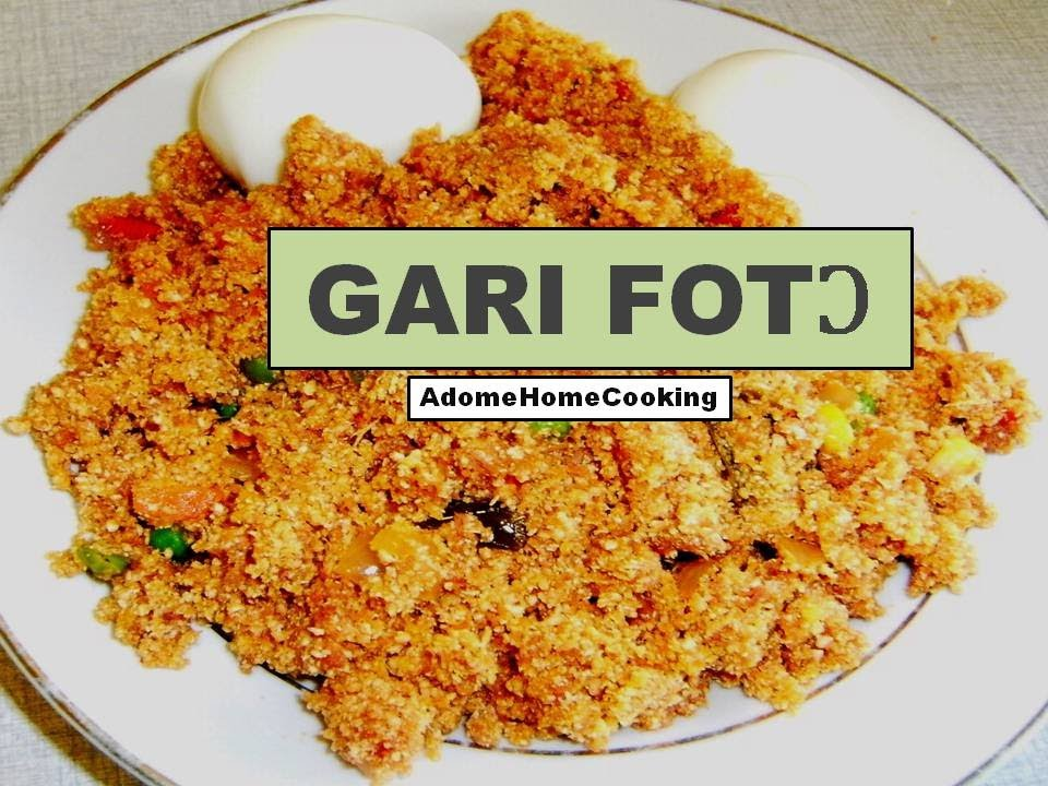 How to make gari fot gari stir fry youtube for Fish n gari