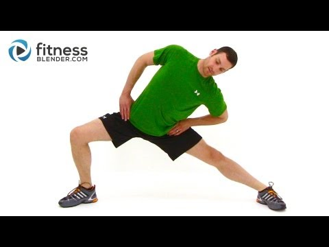 Cool Down and Full Body Stretch - Relaxing Cool Down and Stretching Workout Routine