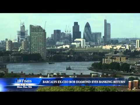 Barclays Ex-CEO Bob Diamond Eyes Banking Return