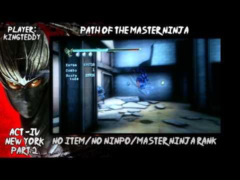 Ninja Gaiden Sigma 2 : Master Ninja Run : Act 4
