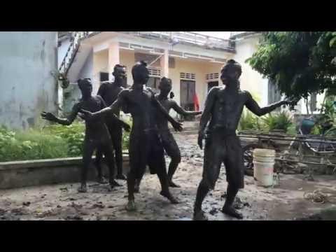 Hành Trình Xanh Nam Định - múa alibaba+chiều lên bản thượng phiên bản đặc công HTX
