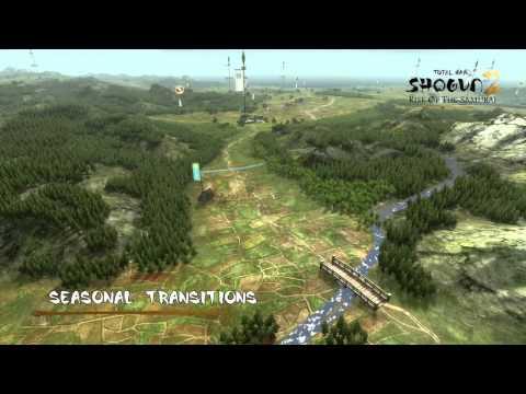 Видеосравнение глобальной карты в Total war: Shogun 2  и Rise of the samurai dlc.+ Дата выхода Rise of the Samurai
