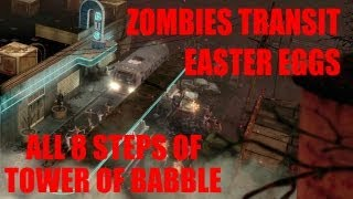 Black Ops 2 Zombies Tranzit Easter Eggs How To