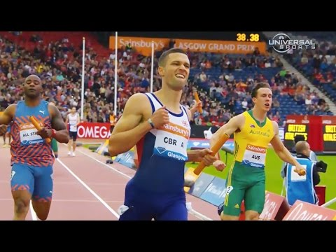 British men win 4x100m in Glasgow - Universal Sports