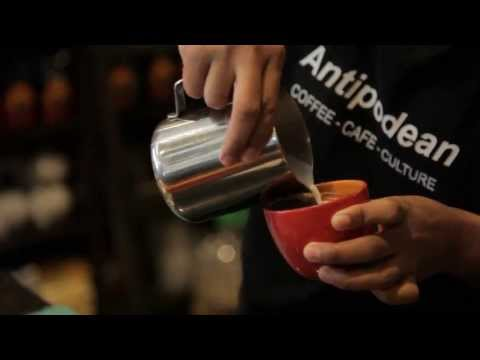 Antipodean Cafe Malaysia Corporate Video -- Latte Art Showcase