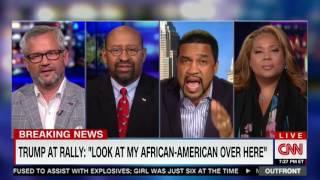 CNN Pundit Tara Setmayer Rips Black Pastor Trump Supporter