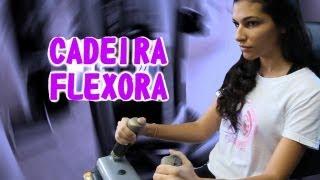 TREINO DE PERNAS CADEIRA FLEXORA DICA SALUTE #5