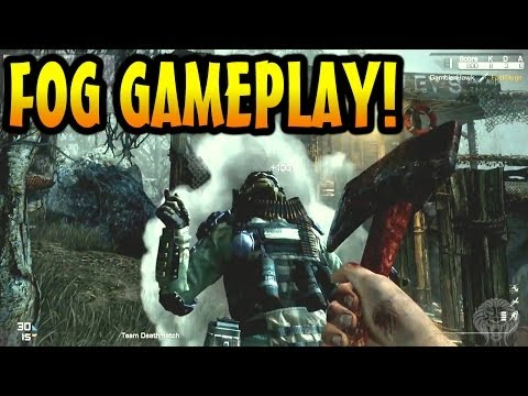 COD Ghosts: Fog Gameplay + Mike Myers Footage! New Fog Multiplayer Map Gameplay(Ghost Onslaught DLC)