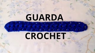 Guarda O Galon En Tejido Crochet Tutorial Paso A Paso