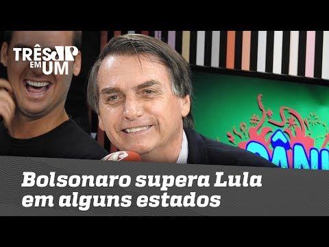 Bolsonaro supera Lula em alguns estados