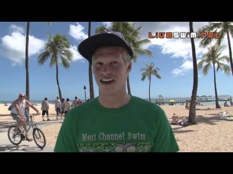 Chip Peterson 10k Pan Pac Winner - 2010 Waikiki Rough Water Swim
