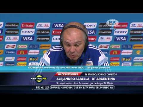 La palabra de Alejandro Sabella