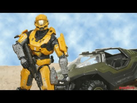 HALO Reach Toys Spartan Hazop Exclusive Rare Toy Review Unboxing