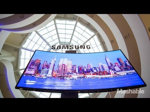 Samsung's Curved UltraHD TVs Unveiled