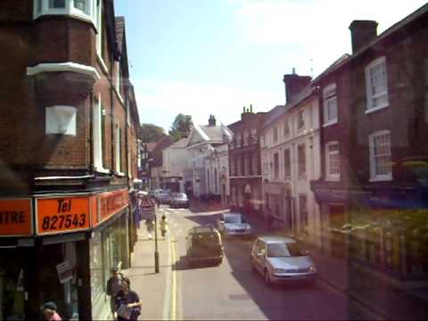 Bus Ride Through Tring, Herts