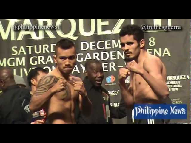 Mercito Gesta / Miguel Vazquez Weigh-In [FULL]