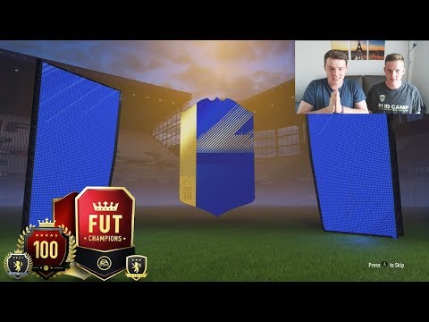 WHY EA!!!😱- ELITE TOTS FUT CHAMPIONS REWARDS PACKS! FIFA 18 PACK OPENING