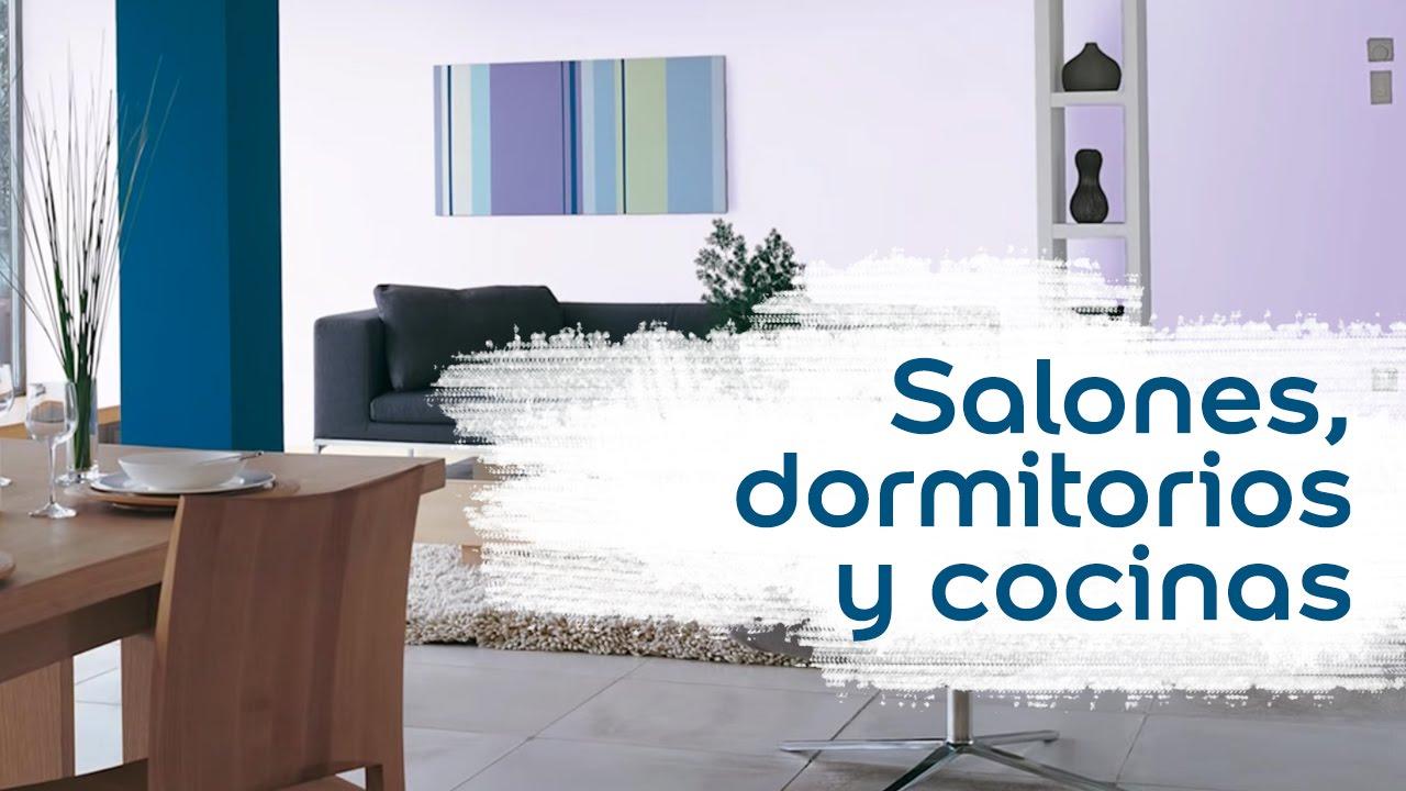 Colores para salones dormitorios y cocinas youtube - Decoracion de salones colores ...