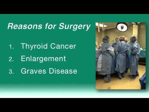 Thyroid Surgery (Lunch with the Doctor) July 2013